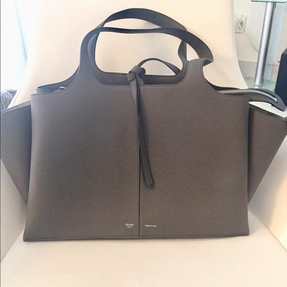 05a1714a4c Celine Handbags - Celine Medium Tri-Fold